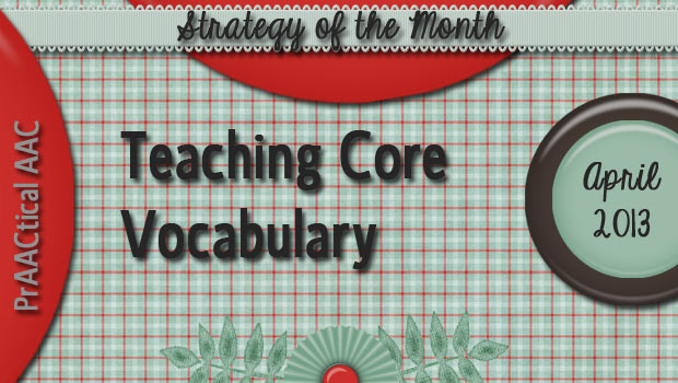 Teaching Core Vocabulary