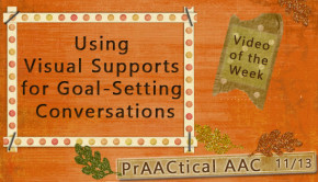 Using Visual Supports for Goal-Setting Conversations