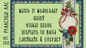 Using Visual Scene Displays to Build Language and Literacy